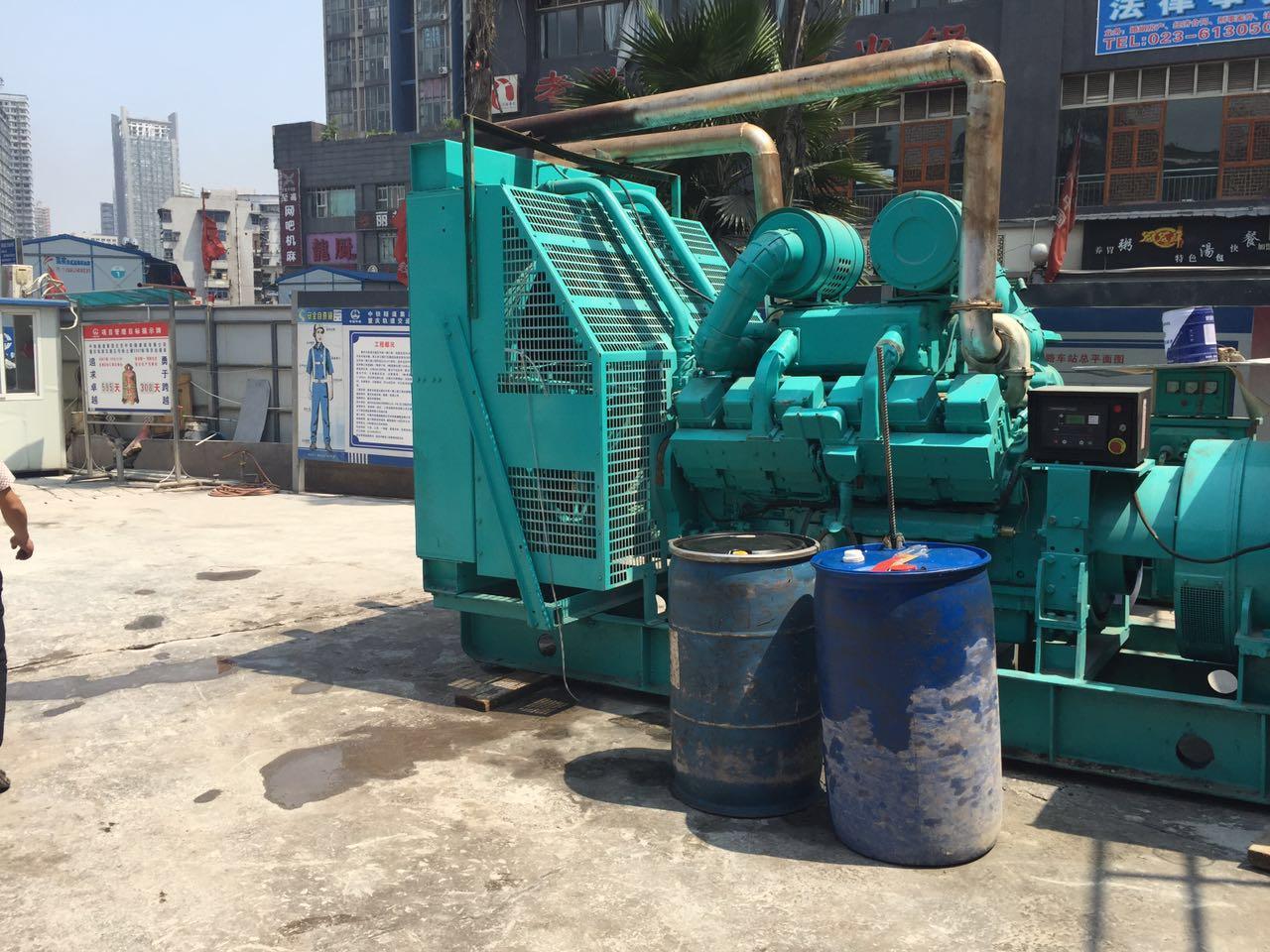 重庆某工厂75kw发电机租赁案例